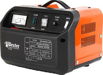 Зарядное устройство для АКБ WESTER CH 20 цена в Москве и Питере