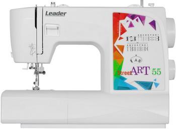 Швейная машина Leader StreetArt 55 швейная машина leader vs 318 4640005570144