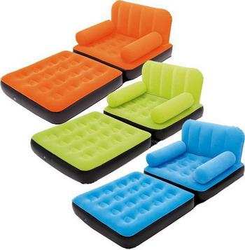 Кресло-кровать надувное BestWay Multi-Max Air Couch 67277 BW teak house кресло max