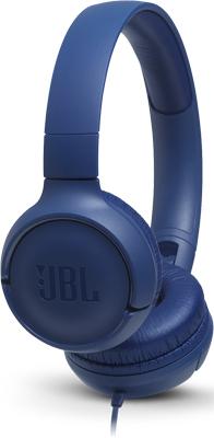 лучшая цена Наушники проводные JBL JBLT 500 BLU голубой
