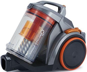 лучшая цена Пылесос Midea VCS 43 A 15 серебристый оранжевый