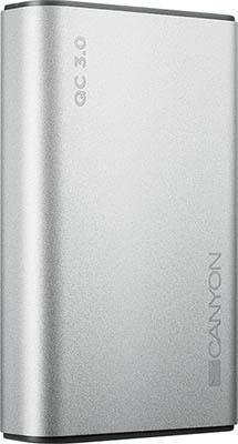 Аккумулятор портативный Canyon CND-TPBQC 10 S Серебро