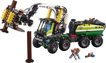 лучшая цена Конструктор Lego TECHNIC Лесозаготовительная машина 42080