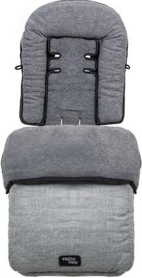 Муфта для ног Valco baby Snug Grey Marle 9805 муфта для ног voksi move light dark grey 3265002 э0000016331