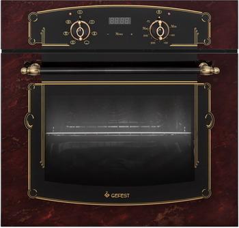 Встраиваемый электрический духовой шкаф GEFEST ЭДВ ДА 622-02 К55 встраиваемый электрический духовой шкаф gefest эдв да 622 02 к26