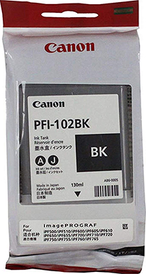 Фото - Картридж Canon PFI-102 BK 0895 B 001 cветильник потолочный shatten karius 1032 102 05 e14 5x60w черный хром