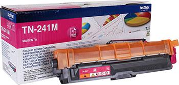Тонер-картридж Brother TN 241 M пурпурный тонер картридж canon 054 h пурпурный для лазерного принтера оригинал