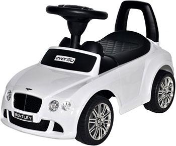 Автомобиль-каталка Everflo Bentley Continental GT Speed EC-626 белый ПП100004305 автомобиль пламенный мотор bentley continental gt3 1 43 белый мет откр двери 6927858701412