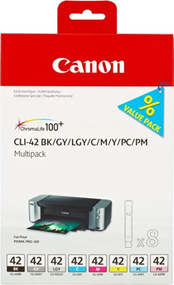 Фото - Набор картриджей Canon CLI-42 Multi Pack 6384 B 010 набор чайный viva scandinavia v24124 светло зеленый