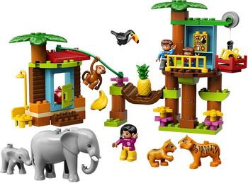 Конструктор Lego DUPLO Town 10906 Тропический остров lego duplo 10817 времена года
