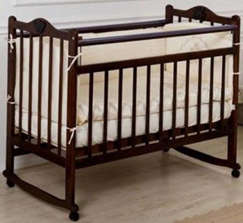 Детская кроватка Everflo Pali chocolate ES-001 ПП100004144