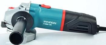 Угловая шлифовальная машина (болгарка) Hyundai G 850-125 шлифовальная машина bosch gws 17 125 cie 06017960r2