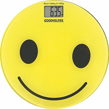 Весы напольные GoodHelper BS-S52 желтые goodhelper bs s40 розовый