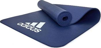 Тренировочный коврик (фитнес-мат) Adidas ADMT-11014BL (7 мм) синий adidas adidas duramo 7