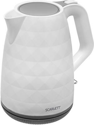 Чайник электрический Scarlett SC-EK18P49 чайник электрический scarlett sc ek18p53 1л 1600вт белый серый корпус пластик