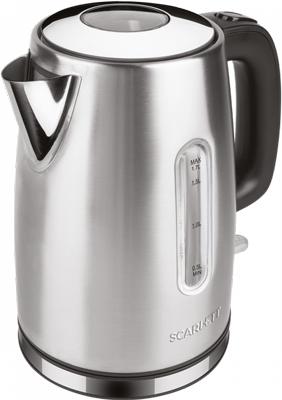 Чайник электрический Scarlett SC-EK21S68 сталь чайник электрический scarlett sc ek18p53 1л 1600вт белый серый корпус пластик