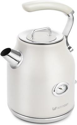 Чайник электрический Kitfort KT-663-1 чайник электрический kitfort кт 663 4 1 7л 2200вт мятный корпус металл