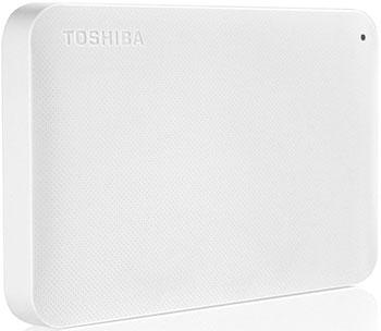 Внешний жесткий диск (HDD) Toshiba HDD 2.5'' 1.0Tb Canvio Ready (HDTP210EW3AA) White цена
