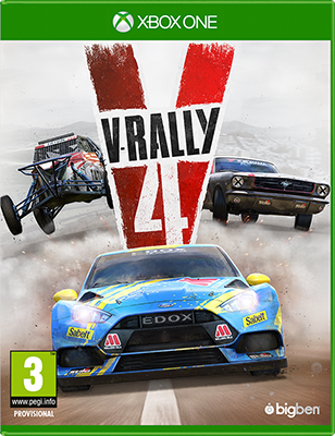 Игра для приставки Microsoft Xbox One V-Rally 4 Стандартное издание