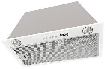 Вытяжка Korting KHI 6530 W Белый вытяжка korting khi 6410 x нержавеющая сталь