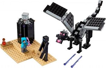 купить Конструктор Lego Последняя битва 21151 по цене 1135 рублей