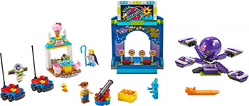 Конструктор Lego Toy Story Парк аттракционов Базза и Вуди 10770