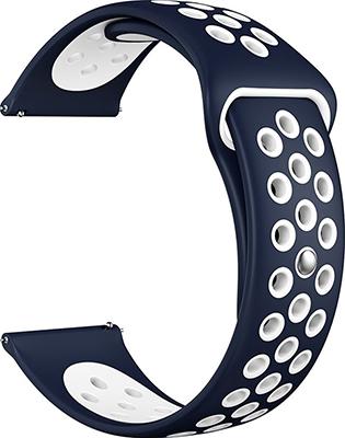 Ремешок для часов Lyambda универсальный для часов 22 mm ALIOTH DS-GS-03-22-BL Blue/White dwt ds 250 gs