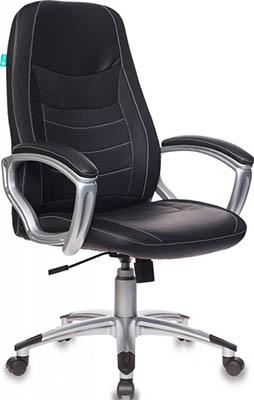 Кресло Бюрократ T-9910N/BLACK черный кресло руководителя бюрократ t 9910n black черный искусственная кожа пластик серебро