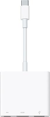Фото - Многопортовый цифровой AV-адаптер Apple USB-C Digital AV Multiport Adapter MJ1K2ZM/A адаптер для автокресла seed papilio maxi cosi car seat adapter black white