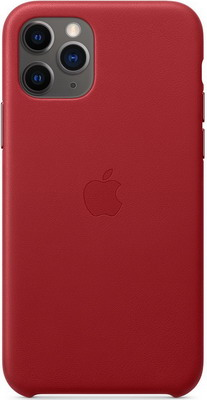Чехол (клип-кейс) Apple iPhone 11 Pro Leather Case - (PRODUCT)RED MWYF2ZM/A цена и фото