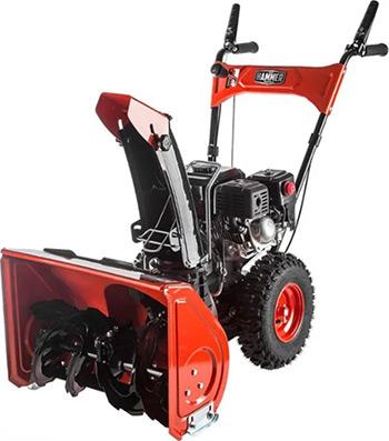 Фото - Снегоуборочная машина Hammer SNOWBULL5600 бензиновый снегоуборочная машина бензиновая champion st656 6 5 л с 56 см 3 6 л 72кг ручной стартер колёсный привод 5f 2r