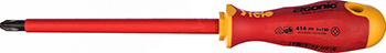 Отвертка диэлектрическая Felo Ergonic крестовая PH 3X150 41430490 отвертка felo ergonic крестовая ph 2x100 40220310