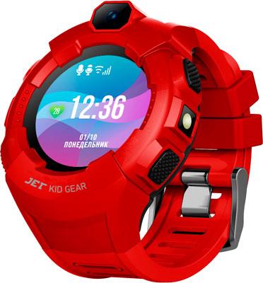 цена на Наручный смарт-браслет JET KID GEAR красный черный
