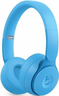 Фото - Беспроводные наушники Beats Solo Pro Wireless Noise Cancelling Headphones - More Matte Collection - Light Blue MRJ92EE/A sephora collection cream lip shine жидкая помада 14 burgundy secret