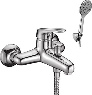 Смеситель для ванной комнаты Lemark Omega LM3102C для ванны смеситель для ванны коллекция omega lm3101c однорычажный хром lemark лемарк