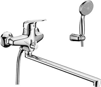 Смеситель для ванной комнаты Lemark Luna LM4151C универсальный смеситель для ванной комнаты lemark luna lm4114c для ванны