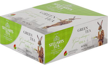 Чай зеленый Steuarts Green Tea Royal 100 пак.