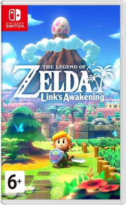 Видеоигра Nintendo Switch: The Legend of Zelda: Links Awakening