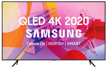Фото - QLED телевизор Samsung QE85Q60TAUXRU видеоняня samsung wi fi видеоняня smartcam snh c6417bn