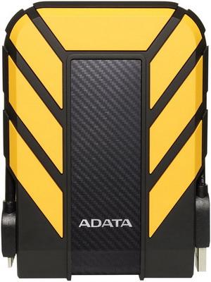 Фото - Внешний жесткий диск (HDD) A-DATA AHD710P-2TU31-CYL YELLOW USB3.1 2TB EXT. 2.5'' внешний ssd жесткий диск a data ase760 256gu32g2 cti titanium usb c 256gb ext
