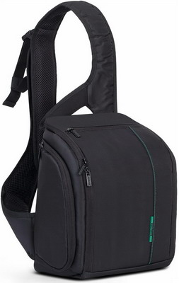 Фото - Cумка-слинг для фотокамеры Rivacase 7470 (PS) SLR Sling Case black сумка для фотокамеры rivacase 7450 ps slr messenger bag black
