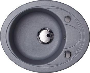 Кухонная мойка Kuppersberg CAPRI 1B1D S STEEL METAL (7023)
