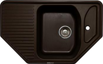 Кухонная мойка LAVA A.1 (COFFEE чёрный) цена
