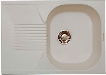 Кухонная мойка LAVA L.2 (LATTE белый)