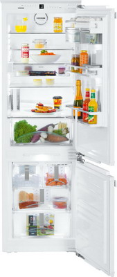 Встраиваемый двухкамерный холодильник Liebherr ICN 3386-20 liebherr icbn 3386