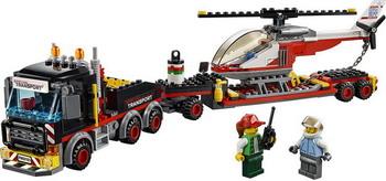 Конструктор Lego City Great Vehicles: Перевозчик вертолета 60183 lego city great vehicles конструктор реактивный самолет 60177
