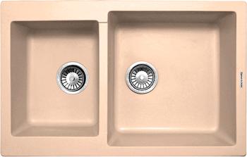 Кухонная мойка Zigmund & Shtain Rechteck 400.275 топленое молоко