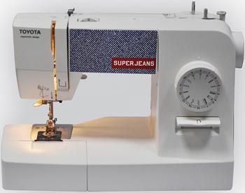 Швейная машина Toyota SUPER JEANS 5411450004855