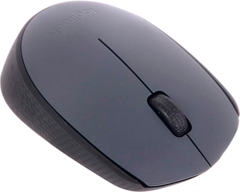 Мышь Logitech Wireless Mouse M 170 Grey (910-004642) цена и фото