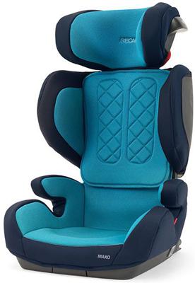 Автокресло Recaro Mako Core гр. 2/3 расцветка Xenon Blue 00088044190050 автокресло группа 1 2 3 9 36 кг little car ally с перфорацией черный